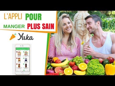 L'application YUKA pour manger SAIN j'alimente ma santé