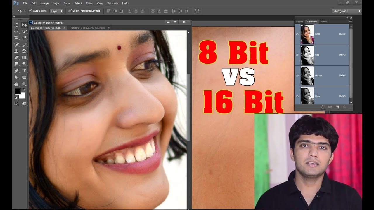 Photoshop changing bit depth? | Adobe Community