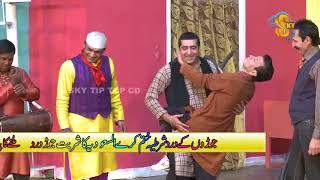 Zafri Khan Dil Kare Chu Che Iftikhar Thakur , Tariq Tedi  Pakistani Stage Drama Comedy Clip 2018