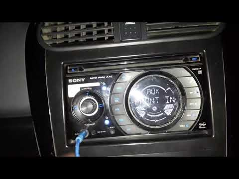 Sony mp3 wma aac car music player WX-GT78UI