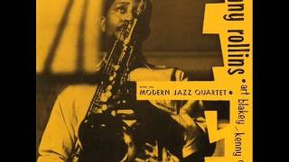 Sonny Rollins with the Modern Jazz Quartet - Almost Like Being in Love