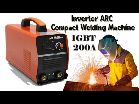 Sai ARC 200 mos DC Inverter Welder machine unboxing