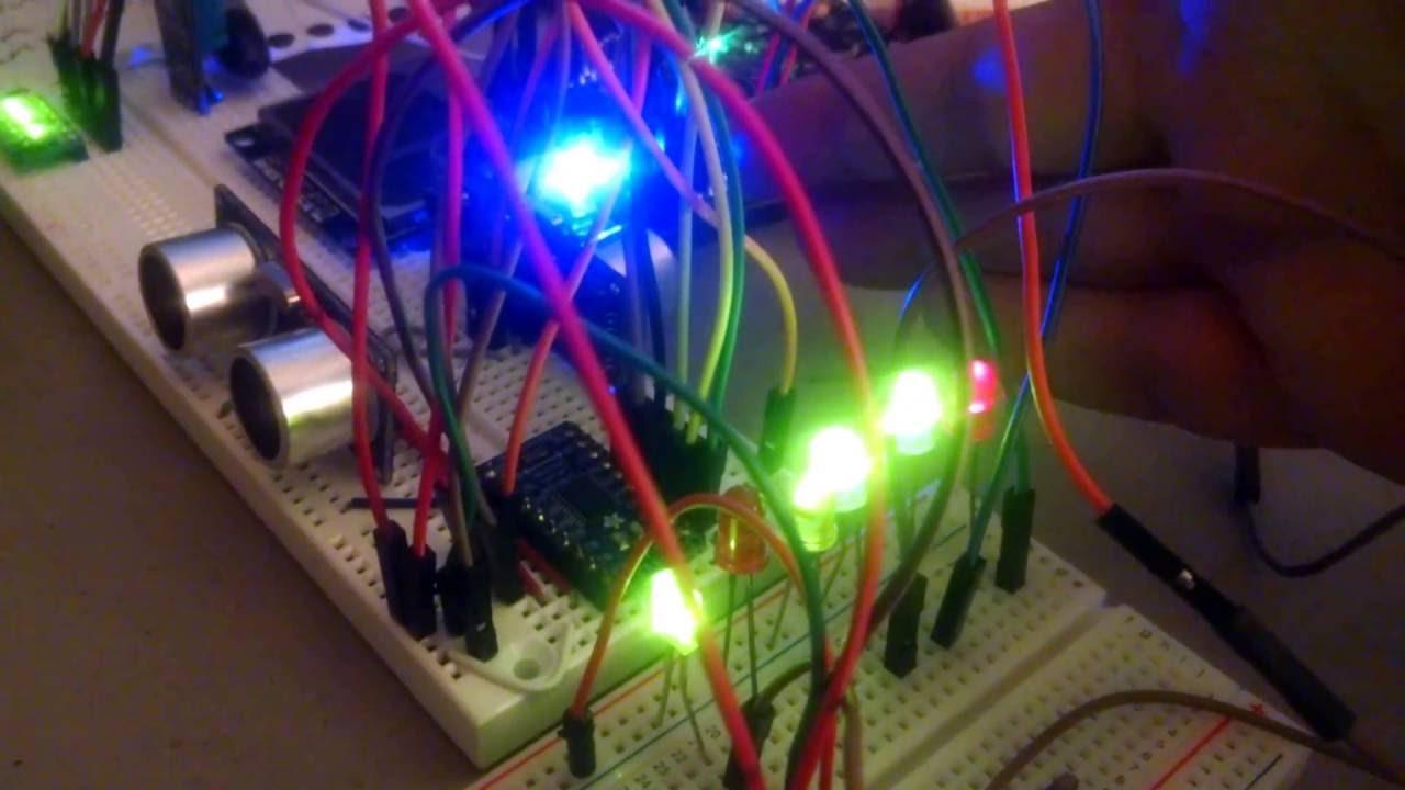 TI Launchpad MSP432 multitasking Demo