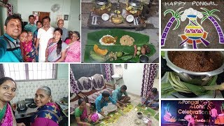 Pongal Celebration Vlog 2019| Day in my life