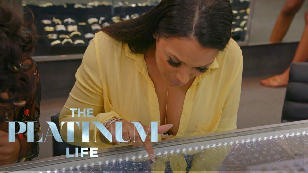 Shantel Jackson Tries on 200K Engagement Ring The Platinum Life