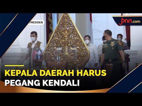 Jokowi Sentil Mendagri Agar Kepala Daerah Fokus Atasi Covid-19