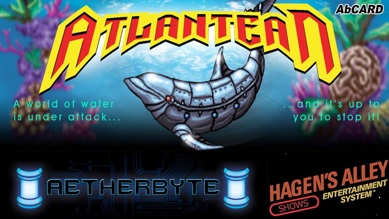 Atlantean - TurboGrafx / PC Engine   Homebrew Review