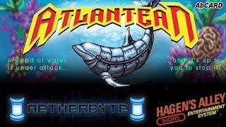Homebrew Review - Atlantean | TurboGrafx / PC Engine