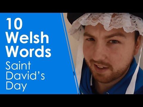 10 Welsh Words - Saint David's Day (Learn Welsh +)