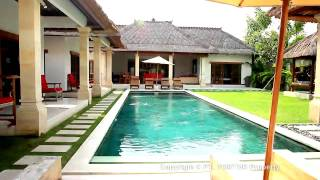 Bali Seminyak villa Darma 4 bedroom holiday rental pool bbq