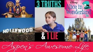 3 Truths and 1 Lie - Aspen's Awesome Life