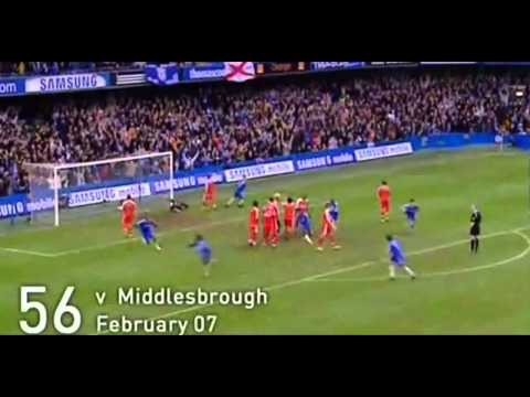 Didier Drogba - 100 Goals for Chelsea London