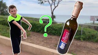 Ищем бутылку от Орёл и решка перезагрузка в Израиле городе Нетания