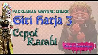 Cepot Rarabi Wayang Golek Asep Sunandar Sunarya