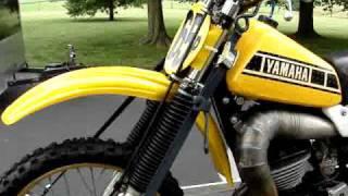 1979 Yamaha YZ 250    YZ250    AHRMA legal motocross