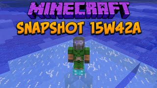 Minecraft 1.9 Snapshot 15w42a Treasure Enchantments & Brewing Changes