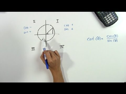 What is the sine of the cotangent in each quadrant math problems what is the sine of the cotangent in each quadrant math problems trigonometry youtube ccuart Gallery