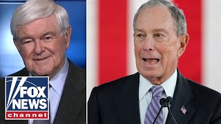 Gingrich on Bloomberg's dramatic rise to Democrat debate stage