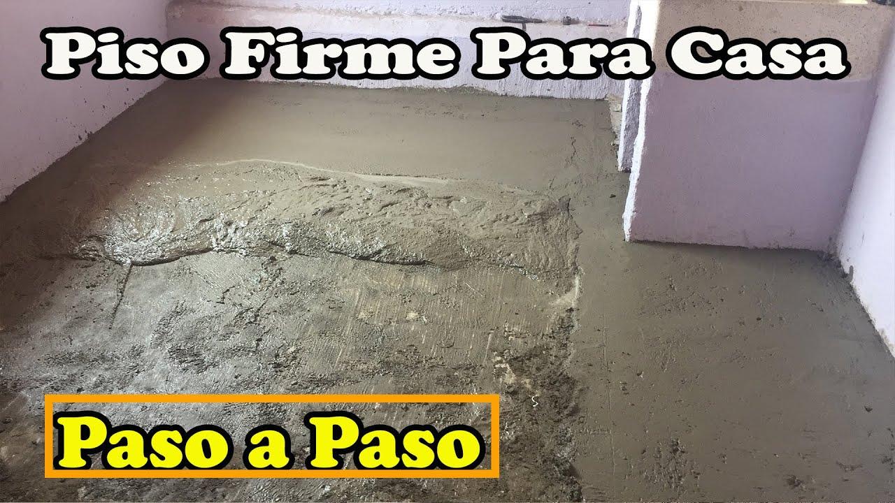 Como hacer un piso de cemento doovi - Como hacer un piso de hormigon ...