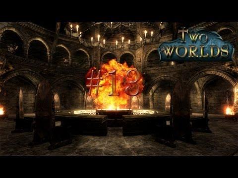 #13 Let's Play Two Worlds (DE/HD/Blind)-Der Friedhof von Covengor