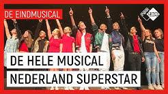 ⭐ DE HELE MUSICAL:  NEDERLAND SUPERSTAR ⭐ | De Eindmusical S1 | NPO Zapp
