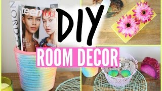 Diy Room Organization And Storage Ideas! Diy Room Decor!