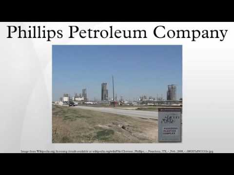 Phillips Petroleum Company HD
