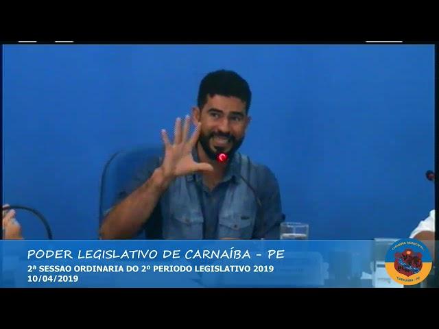 2ª sessão ordinária 2º período legislativo 2019 - Parte 02