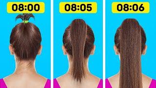 UMWERFENDE Frisuren und Haar-Hacks