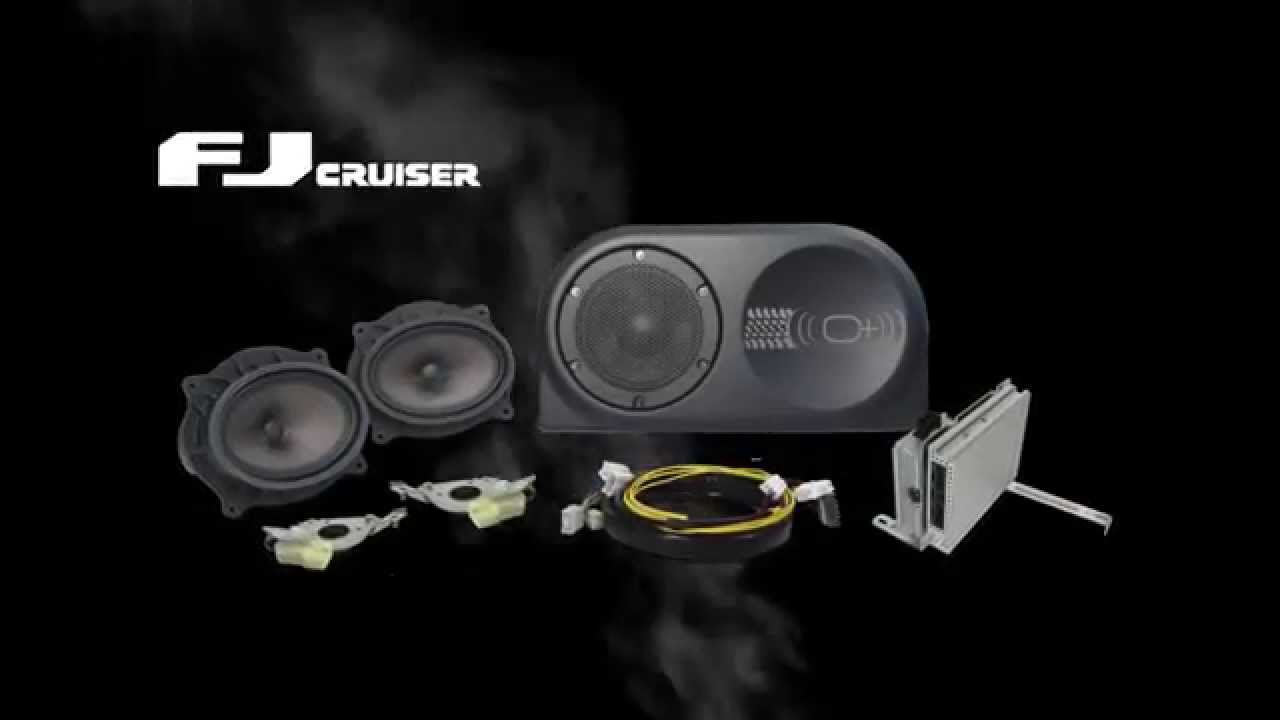 fj cruiser enhance your audio install preview fj cruiser enhance your audio install preview