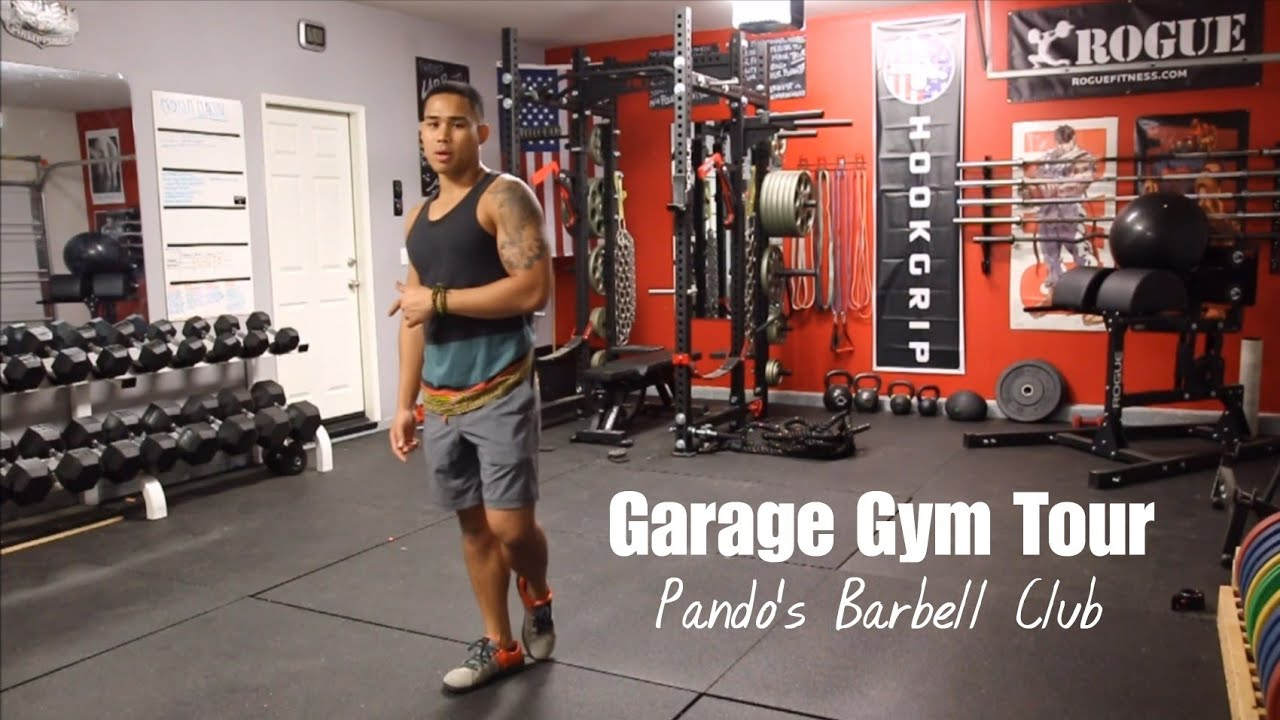 Garage gym tour the world s second greatest home gym youtube