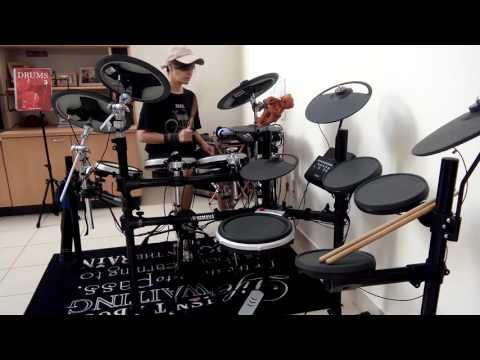 cinta gila drum cov by yulie erica