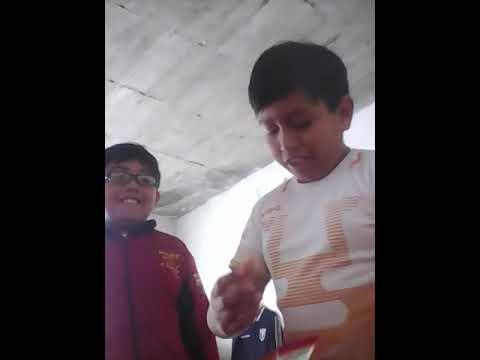 El reto de las papas habanero con mi sobrino - YouTube