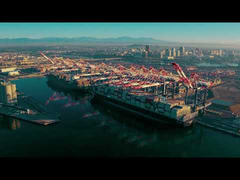 Port of Long Beach – Long Beach Container Terminal Phase 3 Construction Update