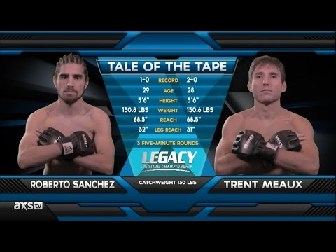 Fight of the Week: Roberto Sanchez Ends it Quickly at Legacy 42