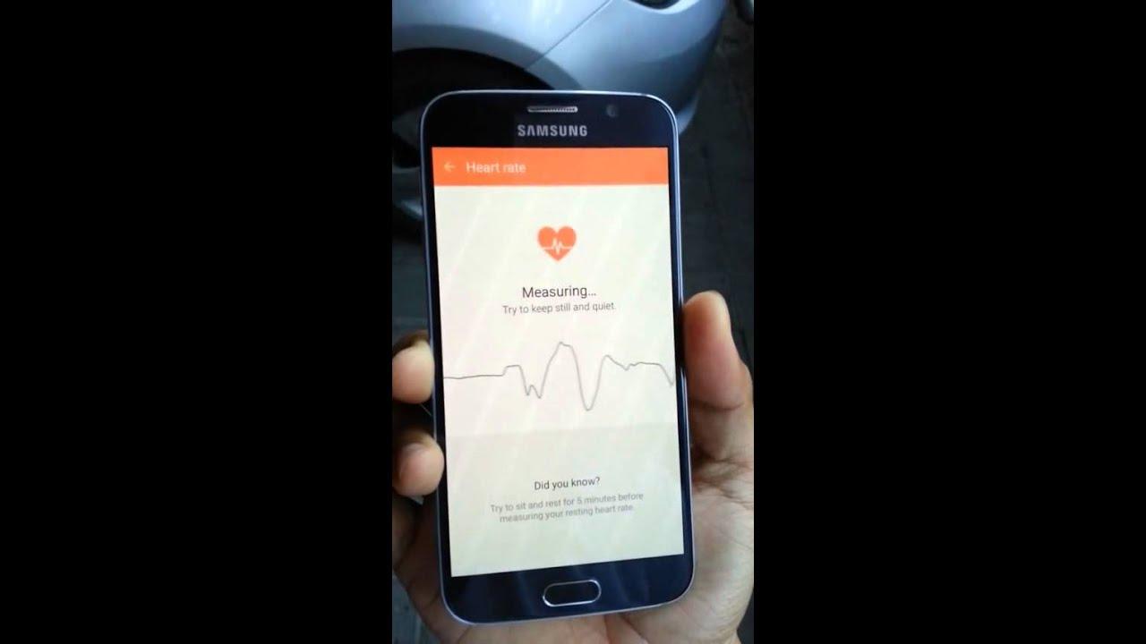 S HEALTH Samsung Galaxy S6 How To Use