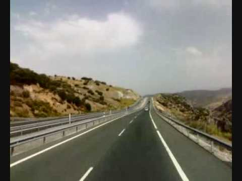 Short drive in Granada province, Andalucia. Spain.