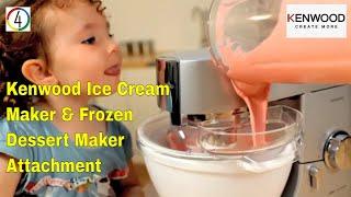 Kenwood Ice Cream Maker & Frozen Dessert Maker Attachment (AT957A)