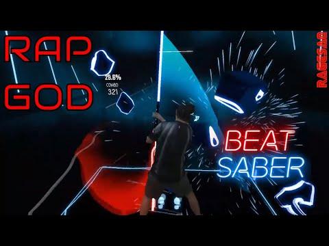 Beat Saber - Rap God (Explicit) - Darth Maul style - saq strikes back