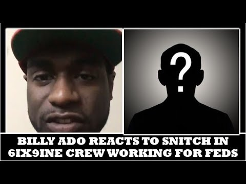 BILLY ADO Reacts To Informant Working W/FEDS To Bring 6IX9INE & TR3YWAY Down