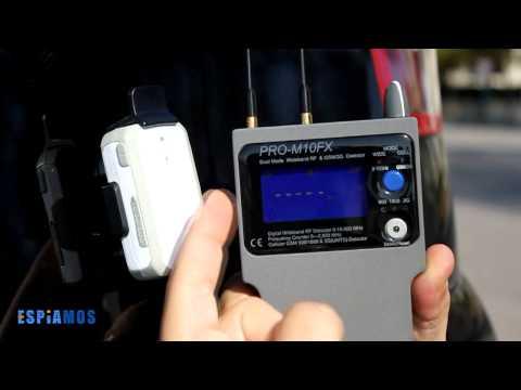 Detector de frecuencias y GSM/3G PRO-10