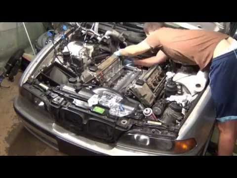 99 BMW E39 540i 544i ValleyPan job in 10 Minutes