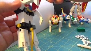 Voltron in lego trasformabile e snodato LINK: Please , vote my workes in lego.cuusoo ! http://lego.cuusoo.com/profile/mazinger_zet ...