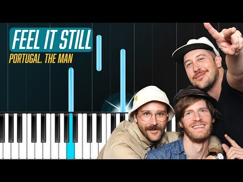 "Portugal. The Man - ""Feel It Still"" Piano Tutorial - Chords - How To Play - Cover"