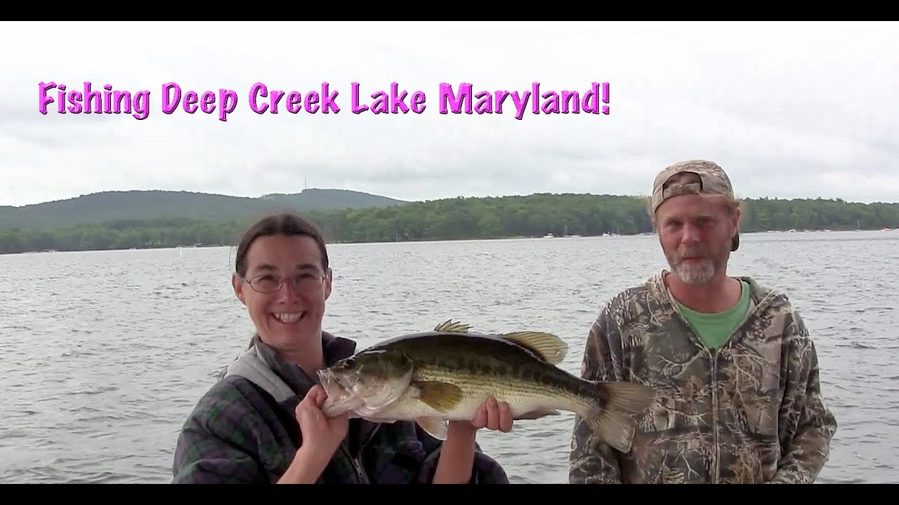 Fishing at deep creek lake youtube for Bass fishing in maryland