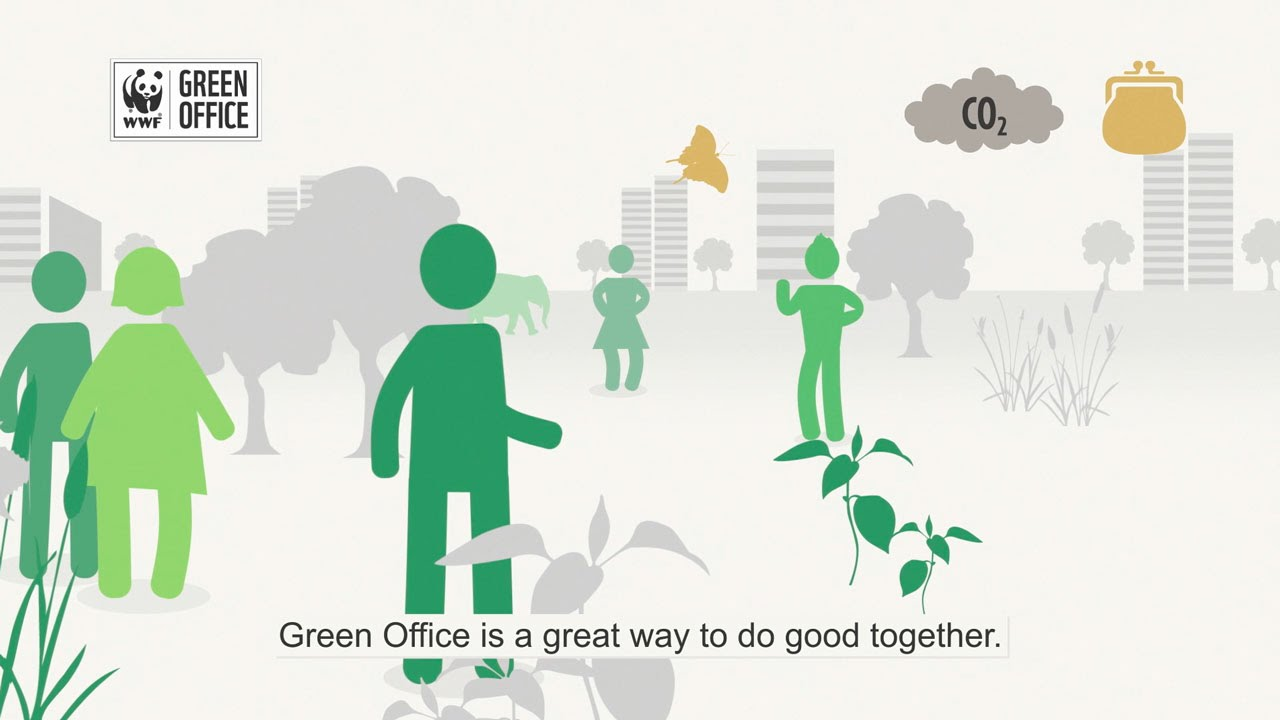 Wwf Green Office Is An Environmental Management System For Offices Youtube