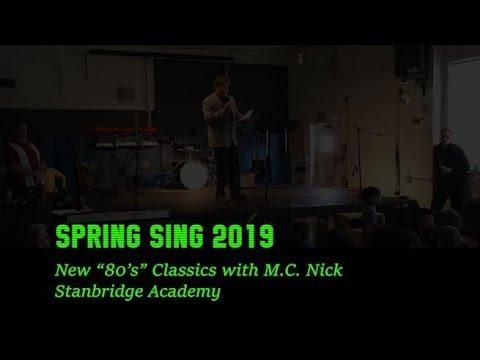 Stanbridge Academy Spring Sing 2019