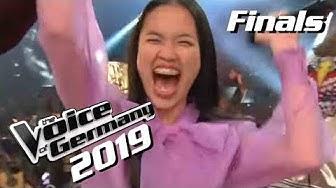 Claudia Emmanuela Santoso ist Voice of Germany 2019! | Winner Moment | Finals