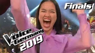 Claudia Emmanuela Santoso ist Voice of Germany 2019! | Winner Moment | Finals