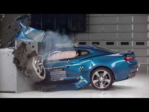 Thumbnail: IIHS Muscle Car Crash Tests